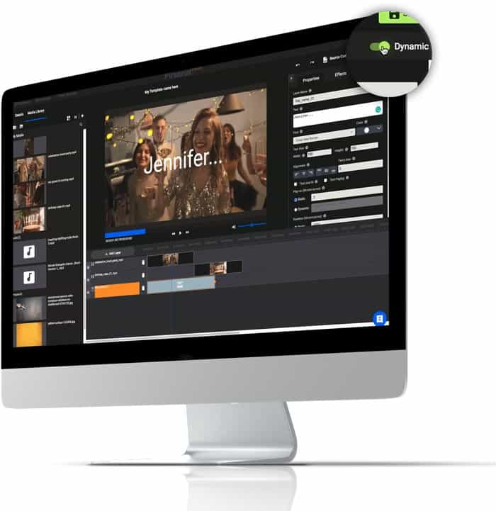 Pirsonal Editor - Software to create dynamic videos